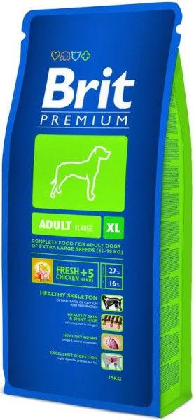 Корм для взрослых собак крупных и гигантских пород Brit Premium Adult XL