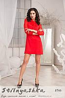 Красивое нарядное красное платье Танго