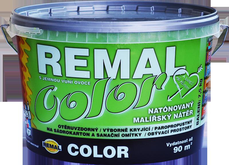 Краска  с нежным фруктовым ароматом REMAL COLOR
