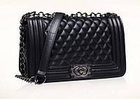 Женская сумка через плечо Шанель Boy Maxi