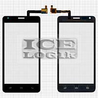 Сенсорный экран для мобильного телефона Fly IQ456 Era Life 2, черный