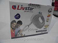 Техника для кухни, мелкая, бытовая техника, миксер Livstar 1432, ручной миксер, бытовой миксер, замес теста