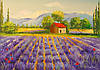 «Лавандовые поля» картина маслом