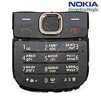 Клавиатура для Nokia 2700c, русская, оригинал (черная)