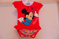 Боди Мини Маус для девочки лицензионного бренда Disney