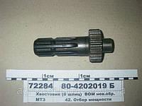 Полуось (передний ведущий мост) МТЗ-80  52-2308065