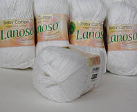 Пряжа Lanosso baby cotton белый