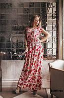 Платье летнее длинное 1009 ген
