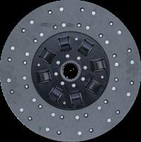 Диск ведомый муфты сцеления Т-150 с асбестовой накладкой / Диск 172.21.024 / Диск Т-150 ТАРА