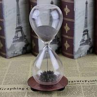 Декоративные стеклянные часы Dance the hourglass
