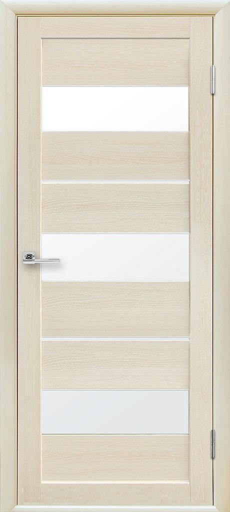 Двери межкомнатные Новый стиль Лилу ПО дуб жемчужный