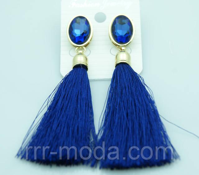 Яркие цветные серьги кисти оптом недорого в Украине. Более 90 моделей сережек с кисточками -Бижутерия RRR.