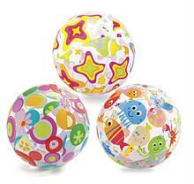 Детский надувной мяч Intex 59050, 61см