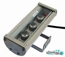 Линейный светильник C-9-24. LED светильник. Светодиодный влагозащищённый LED прожектор.