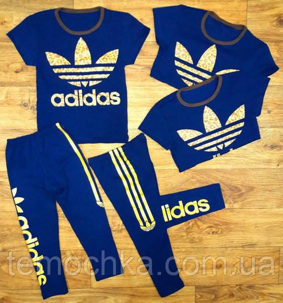 "Комплект лето ""Adidas"" синий."