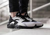 Мужские кроссовки Nike Air Huarache Black/White (40-45 Размер)