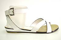 Босоножки женские Vallenssia белые без каблука, женские босоножки