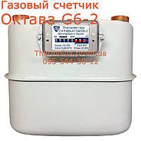 Газовый счетчик Октава G4/G6 крупная резьба (завод Генератор) - счетчик газа, фото 1