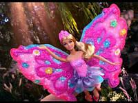 Кукла Barbie Барби Фея Цветочное перевоплощение, розовые крылья