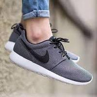 Мужские кроссовки Nike Roshe Run Grey