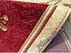 """Синтетический овальный ковер """"Цветы""""  Lotos Karat , цвет красный, фото 2"""