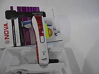 Машинка для стрижки, Nova NHC-6138, регулировка длины волос, аккумуляторная машинка для стрижки