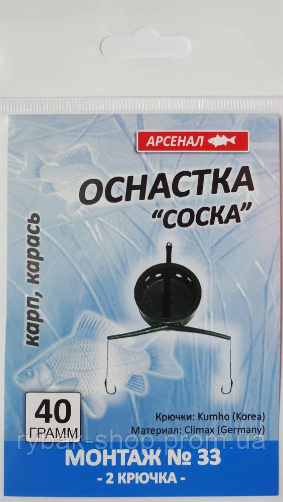 "Оснастка ""соска"" Арсенал, монтаж №33"