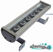 Линейный светильник C-18. LED светильник влагозащищённый. Светодиодный светильник.