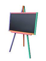 Мольберт для рисования с магнитной стороной цветной (СК-10)