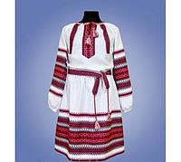 Вышитое платье на девочку