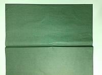 Бумага тишью (папиросная) 50х50см  50 листов темно зеленая