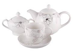 Сервиз чайный фарфор 14 пр. Aprilia, PDL