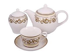 Сервиз чайный фарфор 14 пр. Marmaris, PDL