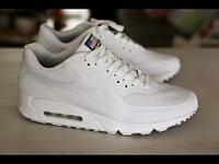 Мужские кроссовки Nike Air Max 90 Hyperfuse white(40-45 Размеры)