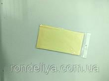 Папір тишею (сигаретний) 50х50см 10 аркушів блідо жовта