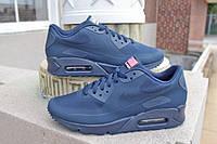 Мужские кроссовки nike air max 90 hyperfuse BLUE(40-45 Размеры)
