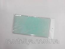 Папір тишею (сигаретний) 50х50см 10 аркушів бліда бірюза