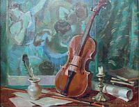 «Театральный натюрморт» картина маслом