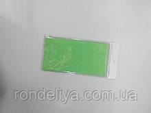 Папір тишею (сигаретний) 50х50см 10 аркушів світло зелена