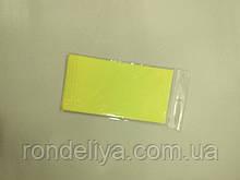 Папір тишею (сигаретний) 50х50см 10 аркушів лимонна