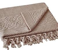 Махровое полотенце 50х90 Buldans Orient коричневое
