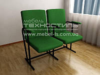Кресло секционное откидное  Эконом