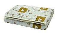 Одеяла детские стеганные 100х140 см. шерсть 100%