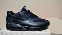 Мужские кроссовки Nike Air Max 90 hyperfuse BLACK(40-45 Размеры)
