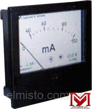 Амперметр ЭА0302/1 переменного тока перегрузочного исполнения