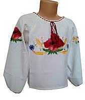 Дитяча сорочка вишиванка для дівчаток