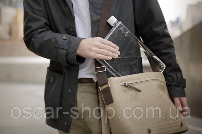 A5 Memo Notebook Bottle. Бутылка размером А5 Прозрачная