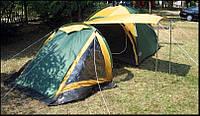 Туристическая палатка Abarqs + 2 спальника