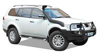 Шноркель SAFARI для Mitsubishi Pajero Sport с 12/2009
