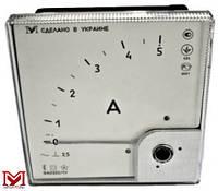 Амперметр ЭА0302/1У переменного тока угловой (улучшенный аналог Э365)
